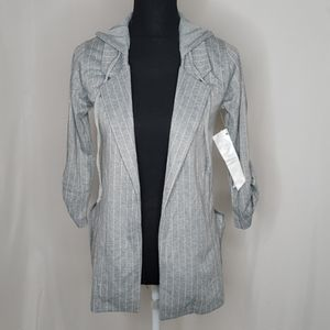 NWT Crave Fame By Almost Famous Hooded Cardigan